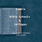 Bible Schools and Colleges in Zambia